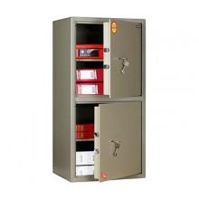 Двухсекционный офисный сейф VALBERG ASM-90/2 с ключевыми замками KABA MAUER
