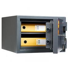 Взломостойкий сейф 1 класса VALBERG Кварцит 30 с ключевым замком BORDER (класс огнестойкости - 30Б, безопасности - S2)