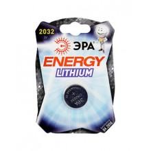 Батарейки Эра Energy Lithium CR 2032