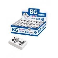 """Ластик из термопластичной резины """"BG Panda"""", 33х21х9мм, прямоугольный, белый, 40шт в упаковке"""