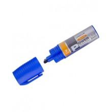 """Маркер перманентный промышленный """"Line Plus"""", 7мм, скошенный, спиртовая основа, синий, 12шт в упаков"""