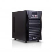 Источник бесперебойного питания, SVC, PTX-2KL-LCD, Мощность 2000ВА/1800Вт, PTX-серия, On-Line, LCD\Tel.line\USB\RS-232 технология SMART, Диапазон работы AVR: 110-288В, Батареи: 6 шт., не поставляются в комплекте, внешнее подключение, 4 вых. Shuko CEE7, Чё