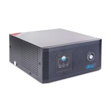 Инвертор, SVC, DIL-800, Мощность 800ВА/640Вт, Вход 12В и/или 220В, Выход 220В, (Чистая синусоида на выходе), Функция заряда батарей 15A, Чёрный