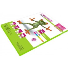"""Бумага цветная для печати """"Kris Creative"""" А4, 80г/м2, 50л, тон неон, салатовая"""