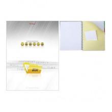 """Тетрадь """"Hatber"""", 120л, А4, клетка, разделитель, твёрдая обложка, на спирали, серия """"Office Book"""""""