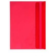 Папка-конверт B5 красная 180мкм (282х209 мм)