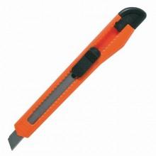 """Нож канцелярский """"Staff"""", 9мм, фиксатор, ассорти, в пакете"""