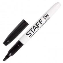 """Маркер для доски """"Staff"""", 2,5мм, круглый наконечник, чёрный, 12 штук в упаковке"""