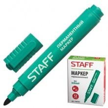 """Маркер перманентный """"Staff"""", 2,5мм, круглый наконечник, зелёный, 12 штук в упаковке"""