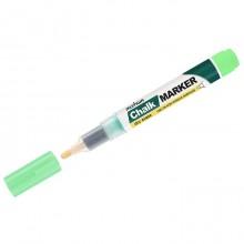 """Маркер меловой """"MunHwa"""", 3мм, круглый, быстросохнущая основа, зелёный, 1шт в пакете"""