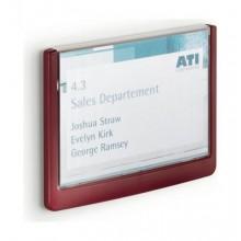 Настенная табличка Click Sign 149x148,5 мм Durable красная