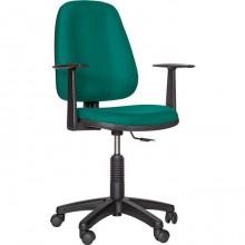 Кресло для персонала OM77, гобелен, зелёный