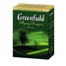 Чай Greenfield Flying Dragon зеленый, 100г, листовой, китайский из Хунани