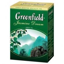 """Чай зелёный """"Greenfield"""", серия """"Jasmine Dream"""", листовой, 200гр"""