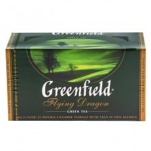 """Чай зелёный """"Greenfield"""", серия """"Flying Dragon"""", 25 пакетиков по 2гр"""