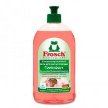 """Жидкое средство для мытья посуды """"Frosch"""", Грейпфрут, 500мл."""