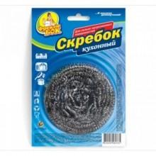 """Губка для мытья посуды """"Фрекен Бок"""", стальная, спиральная, 1 штука в упаковке"""