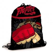 """Мешок для обуви """"Hatber"""", 37x47см, 1 отделение, карман на молнии, серия """"Fighter"""""""