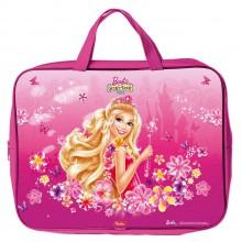 """Сумка текстильная для тетрадей """"Hatber"""", А4, ширина 7см, с ручками, серия """"Barbie"""""""