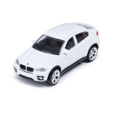 Металлическая машинка, RASTAR, 33700W, 1:43, BMW X6, 11 см, Белая
