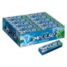 """Жевательная резинка """"Impulse"""", 14гр, со вкусом перечной мяты"""