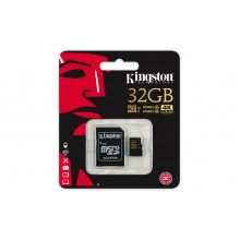 Карта памяти MicroSD 32GB Class 10 U3 Kingston SDCG/32GB