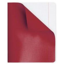 """Тетрадь для записи """"Hatber"""", 48л, А5, клетка, полимерная обложка, на скобе, серия """"Красная"""""""