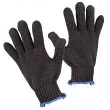 Перчатки хлопчатобумажные, чёрные