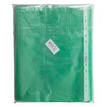 """Файл-вкладыш """"Hatber Eco"""", А4, 40мкм, перфорация, тиснение, зелёный, 100 штук в упаковке"""