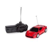 Радиоуправляемая машина, RASTAR, 60500R, 1:32, Ferrari 458 Italia, Пластик, 27 Mhz, Красный