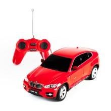 Радиоуправляемая машина, RASTAR, 31700R, 1:24, BMW X6, Пластик, 40 Mhz, Красный