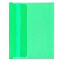 Папка-конверт А5 зеленая 180мкм (220х170мм)