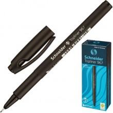 """Линер """"Schneider Topliner 967M"""", 0,4мм, чёрный, 10шт в картонной упаковке"""