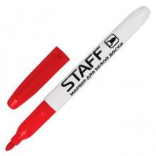 """Маркер для доски """"Staff"""", 2,5мм, круглый наконечник, спиртовая основа, красный, 12 штук в упаковке"""
