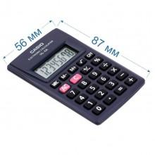 Калькулятор карманный Casio HL-4A-S-EP 87x56x9мм 8-разрядный, чёрный