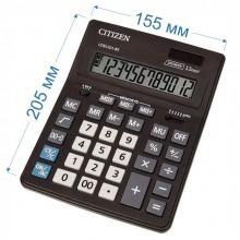 Калькулятор настольный Citizen Business Line CDB1201-BK 12-разрядный 205x155x35мм, чёрный