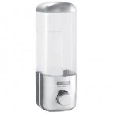 """Диспенсер пластиковый для жидкого мыла """"OfficeClean"""", 500мл, хром"""