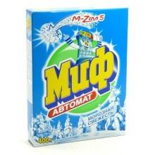 """Стиральный порошок """"Миф"""" автомат, серия Морозная свежесть, 400 г"""