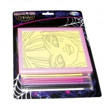 """Панно из цветного песка """"Centrum"""", серия """"Monster High №3"""", в картонной упаковке"""