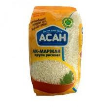 """Крупа рисовая """"Асан"""" Ак-Маржан 800г."""