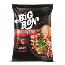 """Лапша быстрого приготовления """"BIGBON"""" Сальса по-мекс с курицей DISCOVERY, 95 гр, в пачке"""