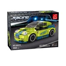 Игровой конструктор, Ausini, 26412, Гонки, Гоночный автомобиль KING8, 193 детали, Цветная коробка