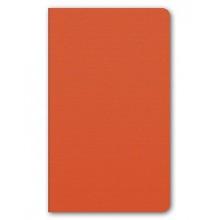 """Бизнес-блокнот """"Hatber"""", 128л, А5, клетка, тонированный блок, мягкий переплёт, серия """"Nadir"""", оранже"""