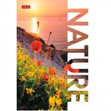 """Блокнот """"Hatber"""", 40л, А5, клетка, ламинация, отрывная склейка, серия """"Nature"""""""