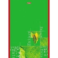 """Блокнот """"Hatber"""", 96л, А5, клетка, лак, на скрепке, серия """"Nature"""""""