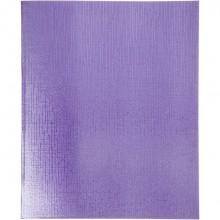 """Тетрадь """"Hatber"""", 48л, А5, линия, обложка бумвинил, на скобе, серия """"Metallic - Фиолетовая"""""""
