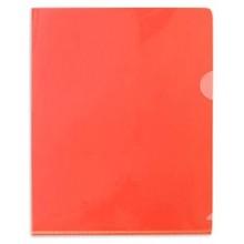 Папка-уголок А5 красная плотная  (180 мк)