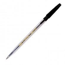"""Ручка шариковая """"Centrum Pioneer"""", 0,5мм, чёрная, прозрачный корпус,"""
