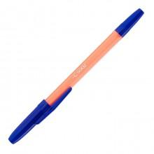 """Ручка шариковая """"Союз Vitolina"""", 1мм, синяя, оранжевый корпус"""