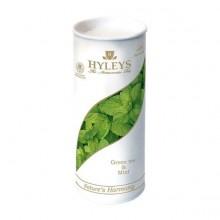 """Чай зелёный """"Hyleys"""", серия """"Гармония природы"""", с мятой 100гр"""